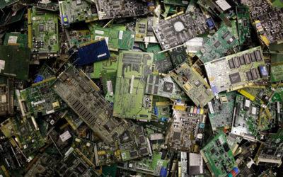 При виробництві одного мобільного телефону утворюється 86 кг відходів