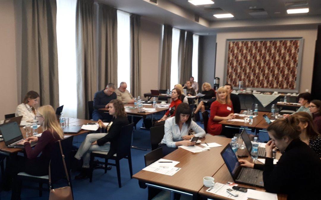 """Учасники """"Укрекоальянсу"""" стали спікерами тренінгу з питань відходів для регіональних ЗМІ"""